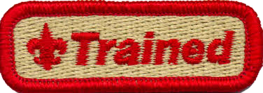 red trained patch