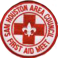 Council First Aid Meet patch