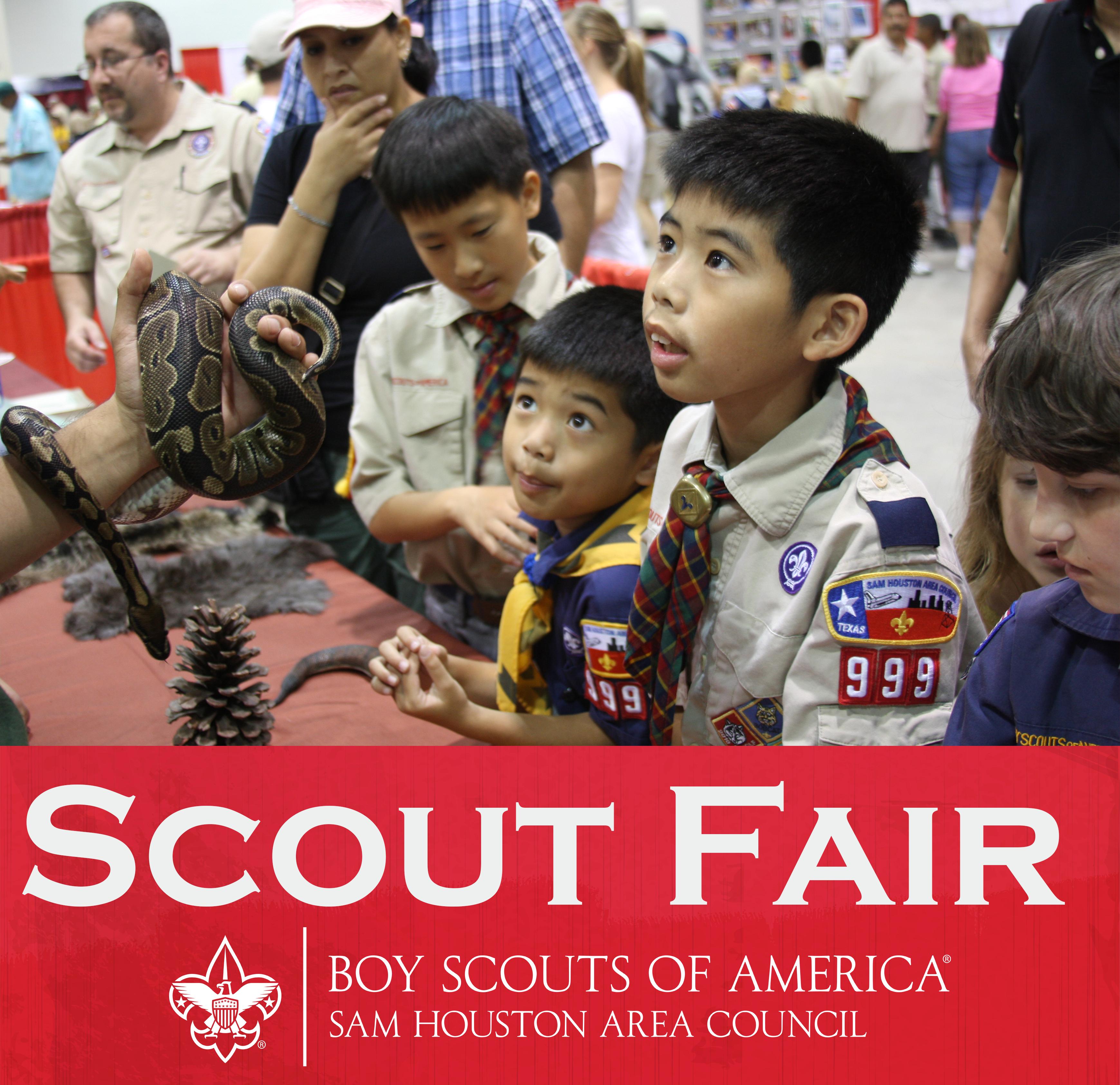 Scout Fair — Sam Houston Area Council
