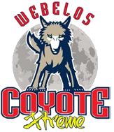 Webelos Coyote Extreme logo