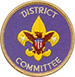 district committee patch